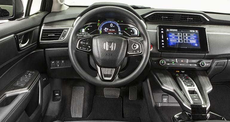 2018 Honda Clarity Plug In Interior
