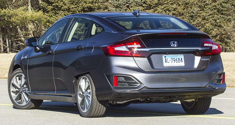 2018 Honda Clarity Plug In Rear