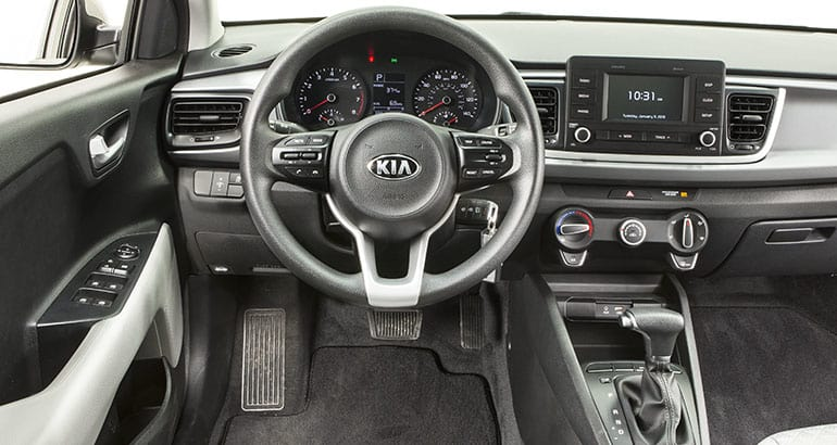 redesigned 2018 kia rio could be a tough sell consumer. Black Bedroom Furniture Sets. Home Design Ideas