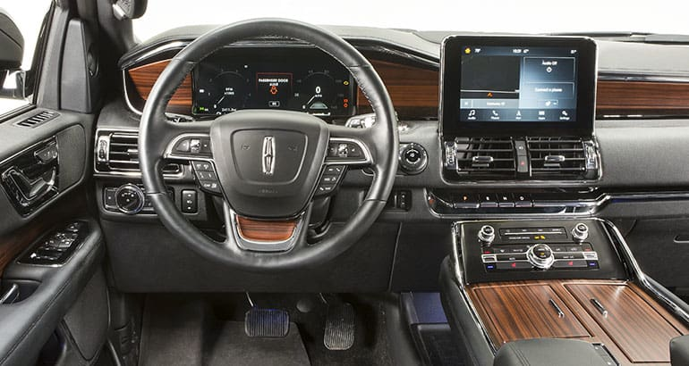 2018 Lincoln Navigator Interior Pictures