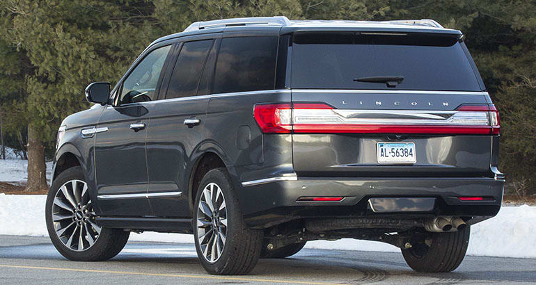 Lincoln Navigator — also included in this Ford seat recall