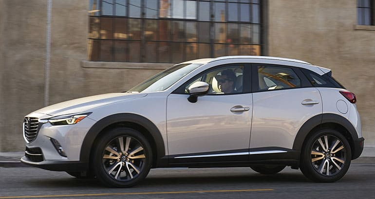Mazda S Entry In The Mini Utility Segment Delivers Agile Fun To Drive Handling A Solid And Substantial Feel Good Fuel Economy