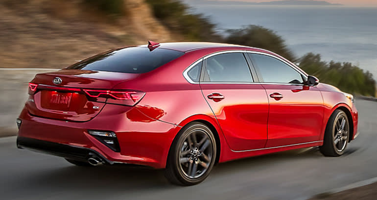 Redesigned 2019 Kia Forte Promises Better Fuel Economy