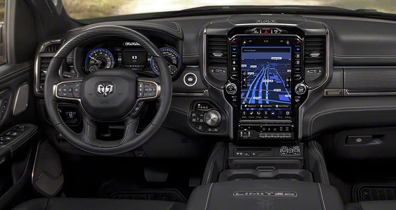 New Dodge Truck Interior