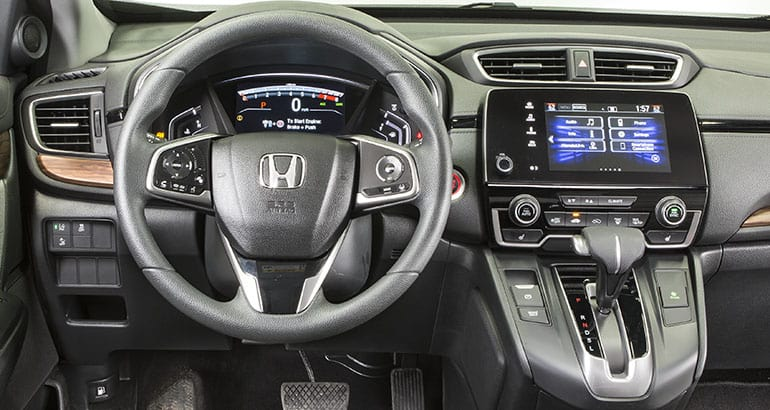 2018 Honda CR-V interior.