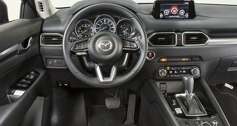 2018 Mazda CX 5 Interior.