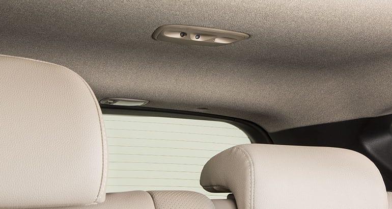 2019 Hyundai Santa Fe rear occupant sensors.
