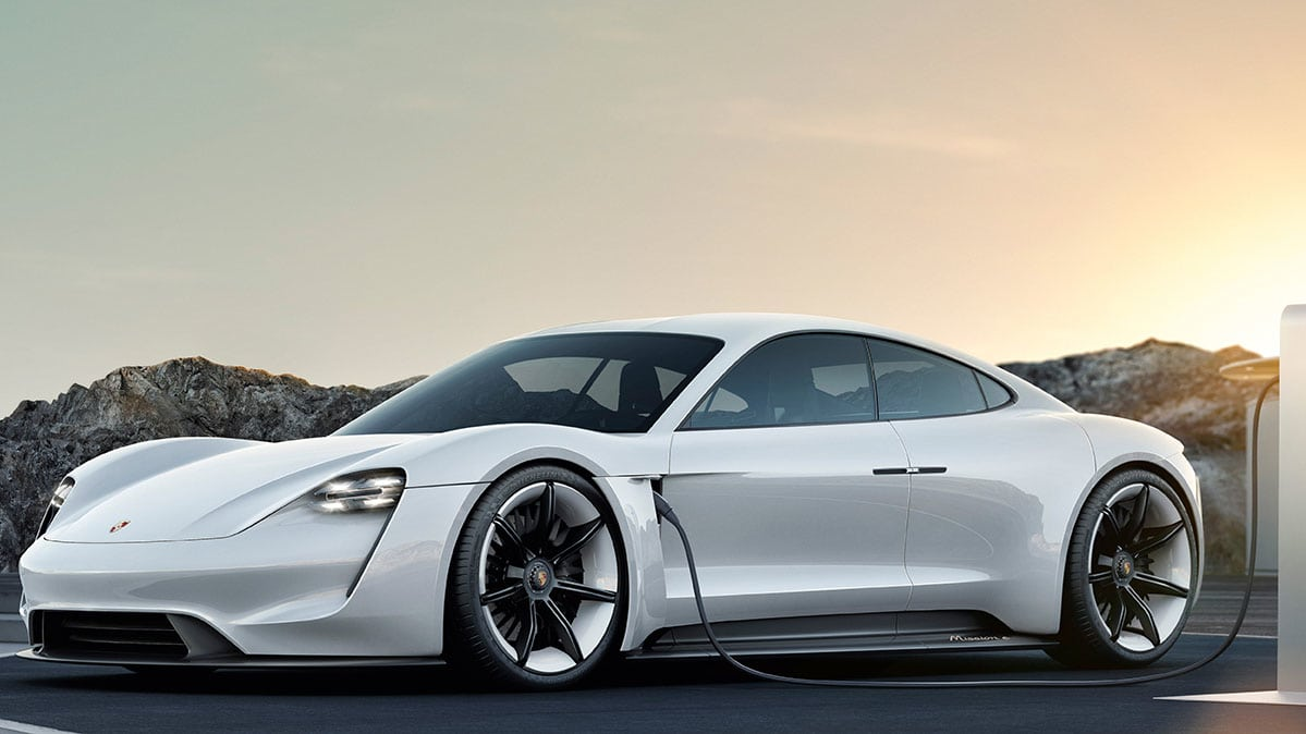 Mission E Concept Previews The 2020 Porsche Taycan Electric Car