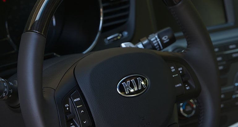 2017 Kia Optima Steering Wheel