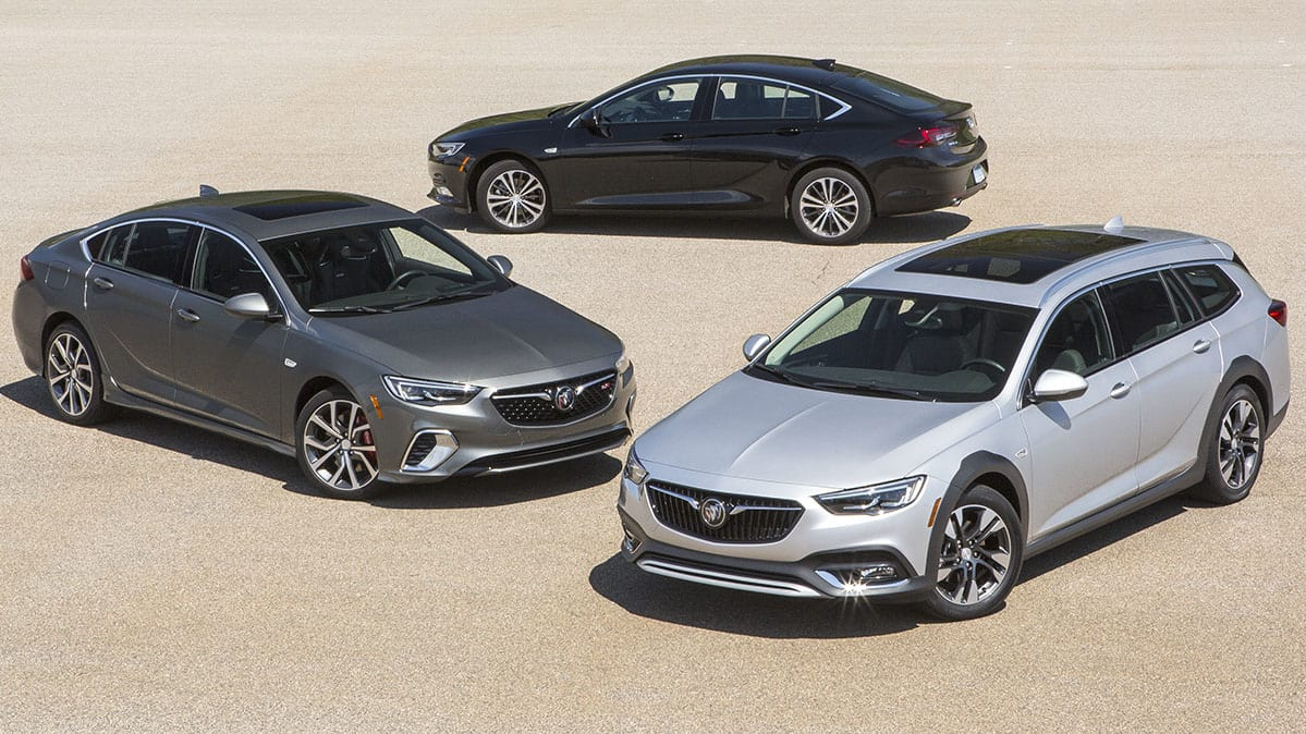 2018 Buick Regal Tourx Gs And