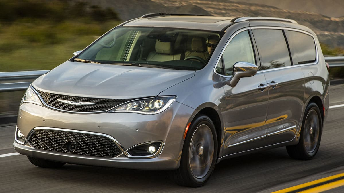 Chrysler Pacifica Minivan.