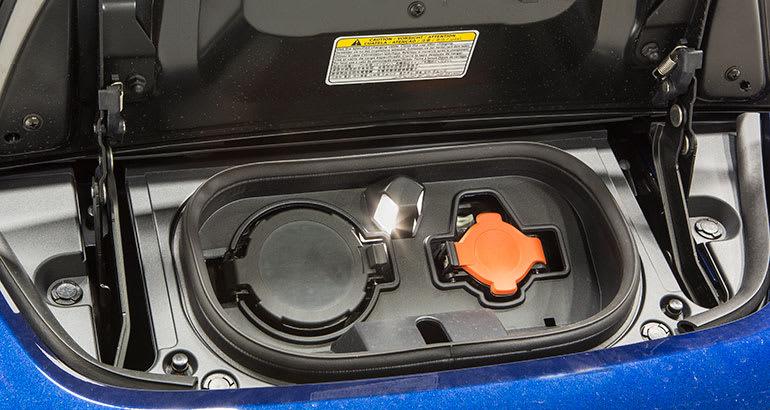 2018 Nissan Leaf Chart Port