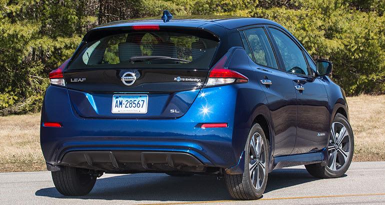 2018 Nissan Leaf Rear