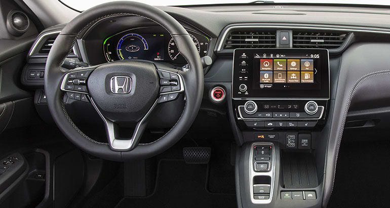 2019 Honda Insight Hybrid Interior Preview