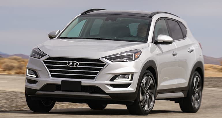 hyundai tucson gets a welcome upgrade for 2019 consumer reports. Black Bedroom Furniture Sets. Home Design Ideas
