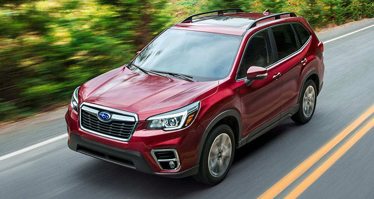 2019 Subaru Forester driving