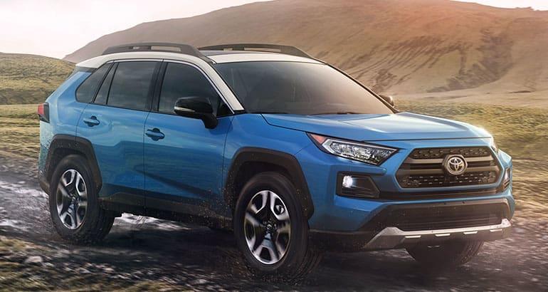 2019 Toyota Rav4 Suv Front