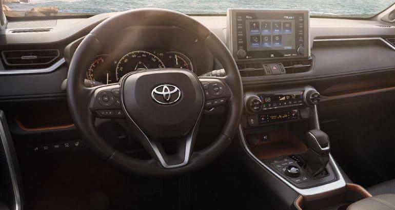 2019 Toyota Rav4 Suv Interior