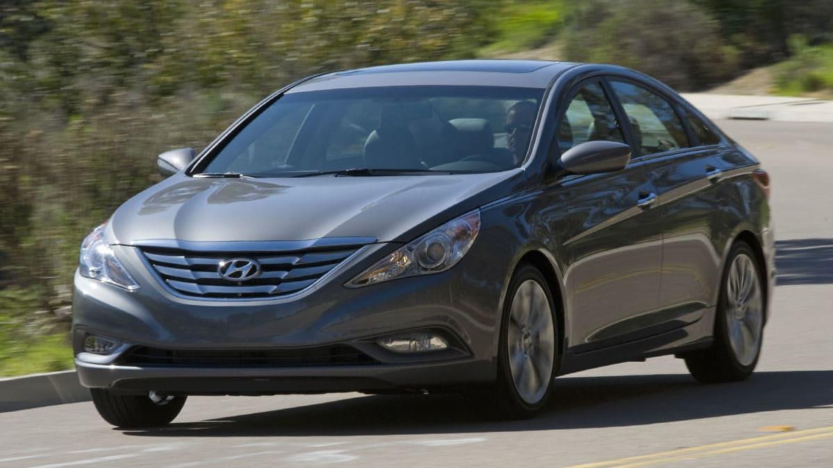 The 2011 Hyundai Sonata is part of this latest NHTSA airbag investigation