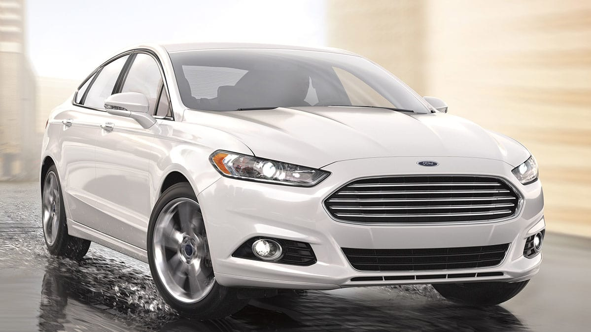 A 2017 ford fusion like this is part of the ford recall