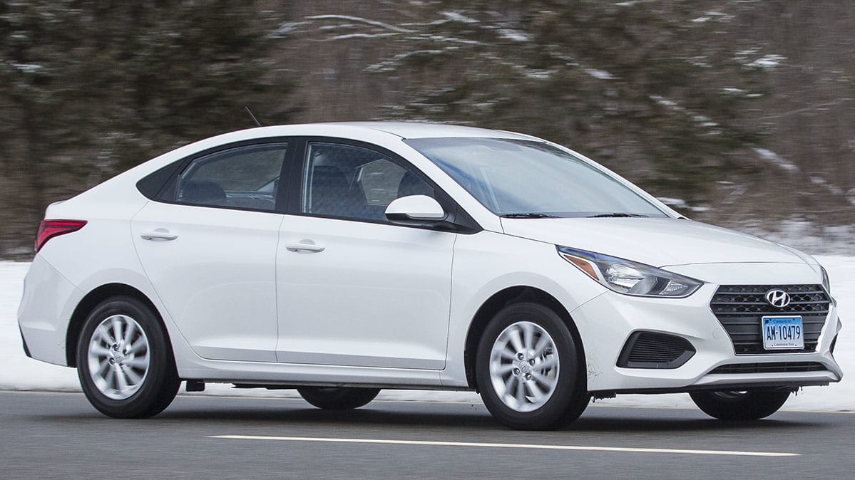 2018 Hyundai Accent Preview >> 2018 Hyundai Accent Review Consumer Reports