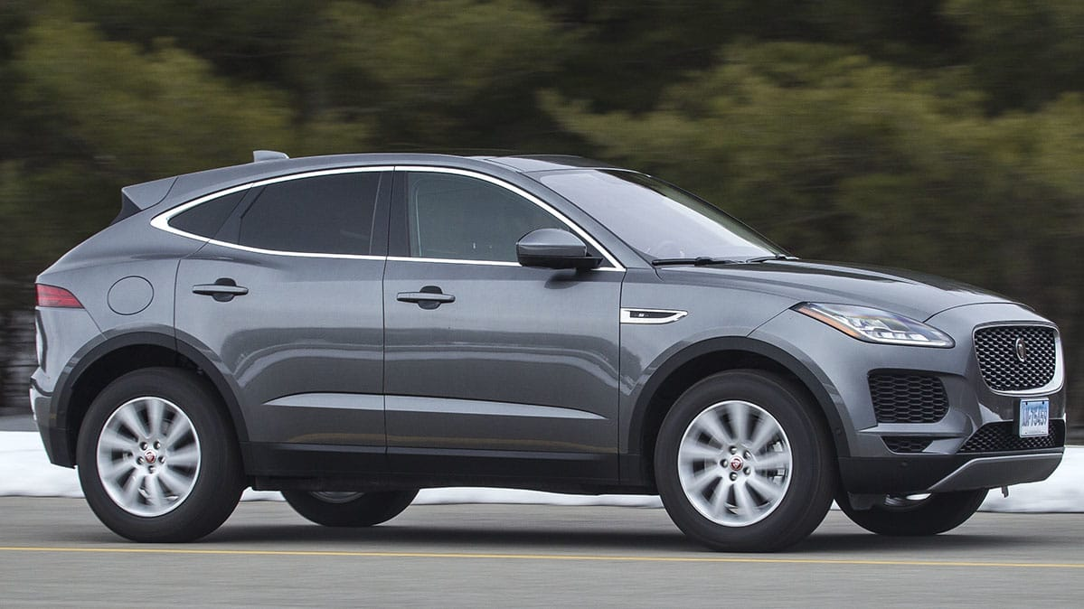 2018 Jaguar E Pace Driving