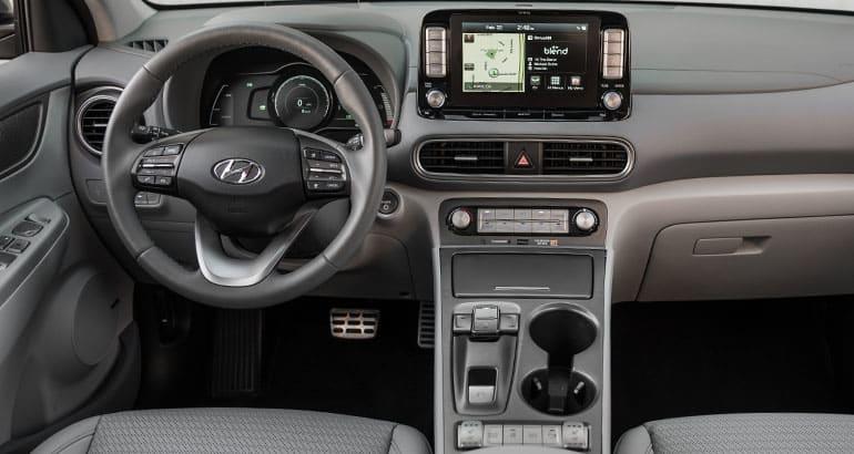2019 Hyundai Kona Ev Interior