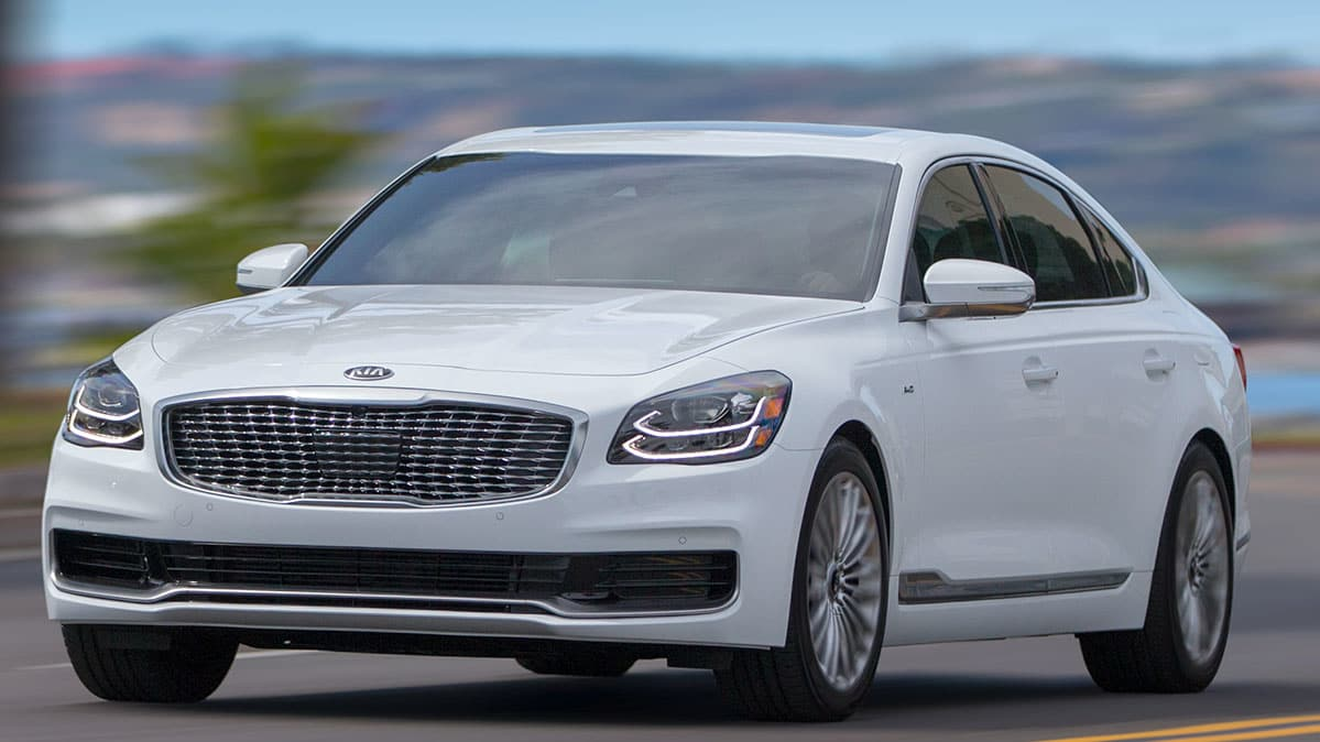 All-New 2019 Kia K900 Preview