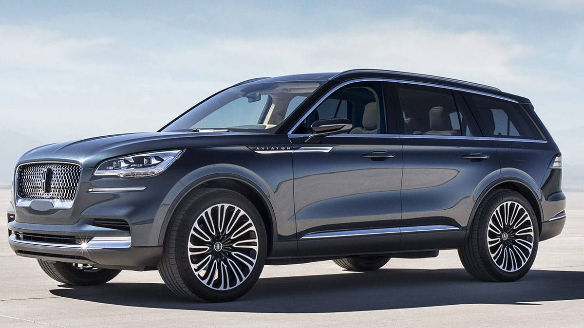 all new lincoln aviator suv prepares to take flight consumer reports. Black Bedroom Furniture Sets. Home Design Ideas
