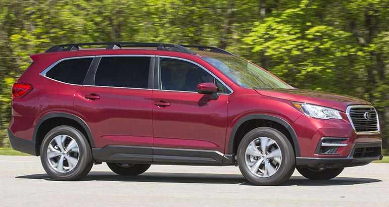 2019 Subaru Ascent Premium driving