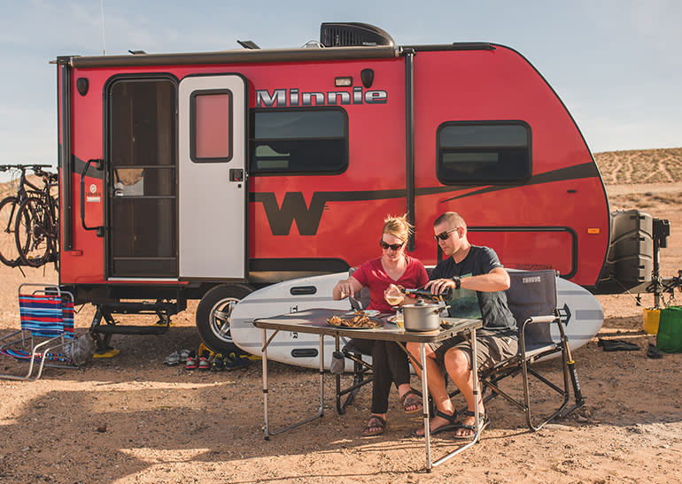 Winnebego travel trailer