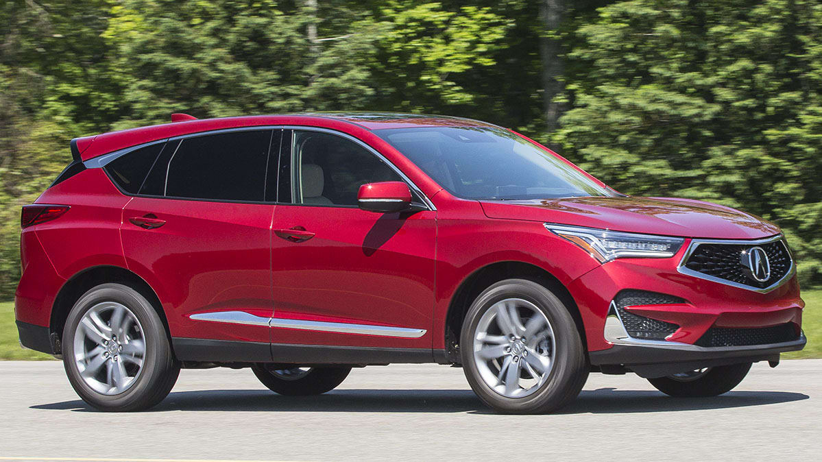 acura with awd video rdx review exterior