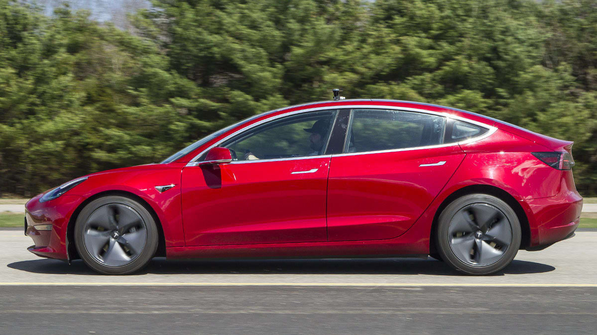 2018 Tesla Model 3 Braking Test
