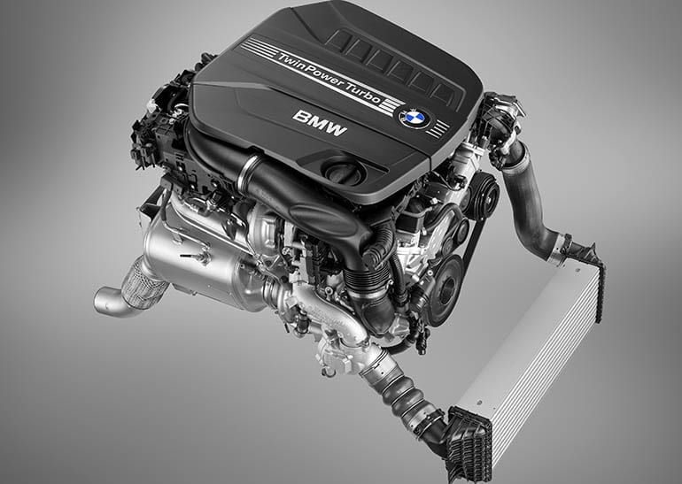 BMW recall on diesel engines, such as this 3.0 liter.