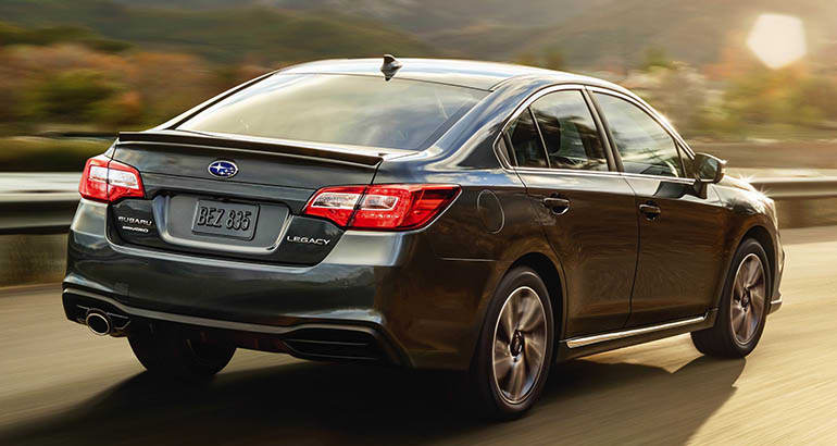 2018 Subaru Legacy and Outback recall for incorrect fuel range display
