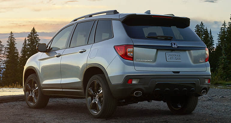 2019 Honda Pilot Release Date >> New Honda Passport SUV revealed