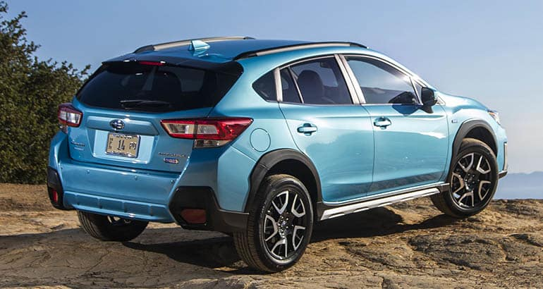 2019 Subaru Crosstrek Plug In Hybrid Rear