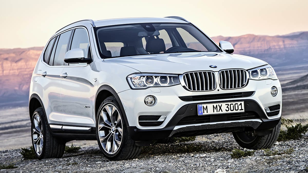BMW recall impacts diesel version of the BMW X3.