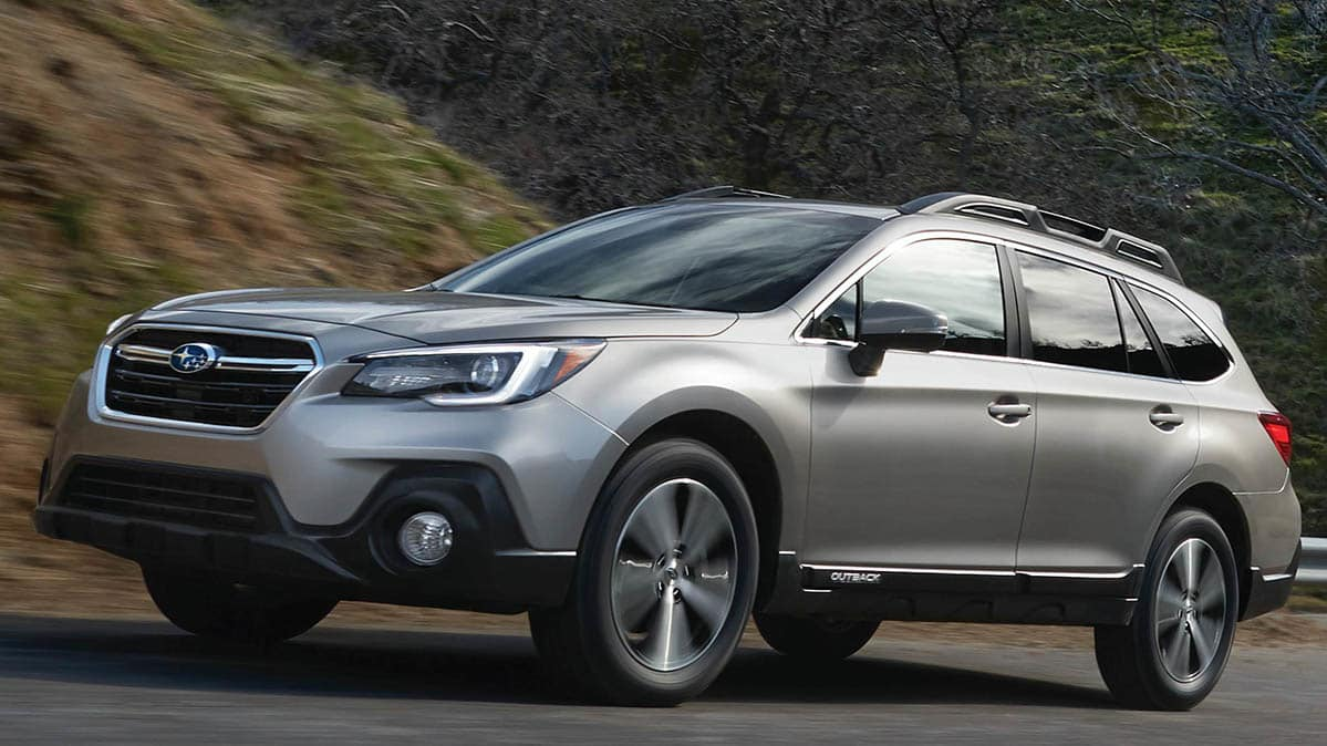 A car that is part of the Subaru recall