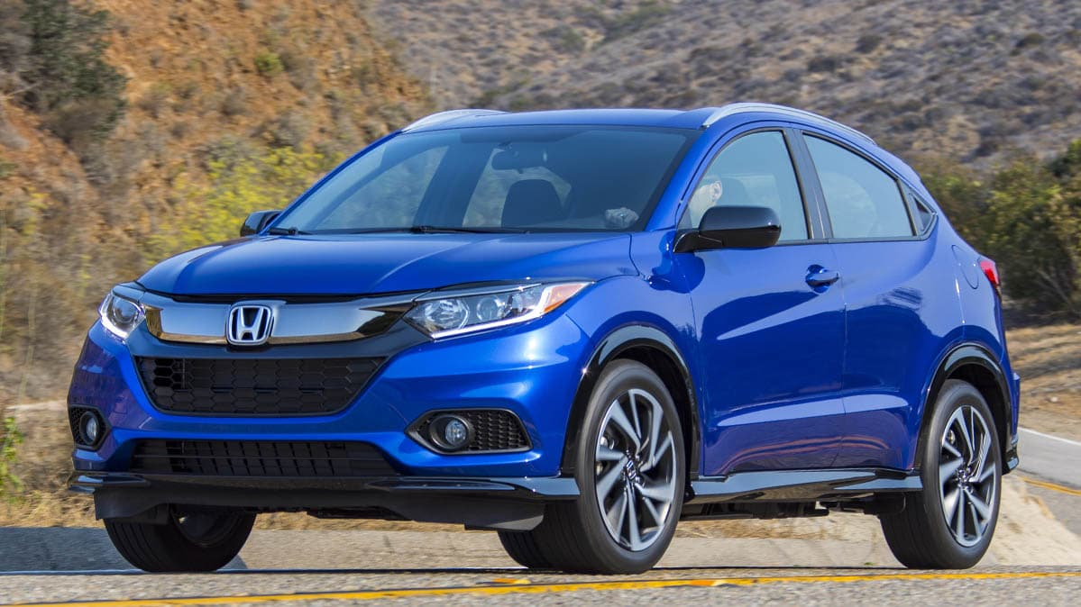 Honda Recall includes 2019 Honda HR-V
