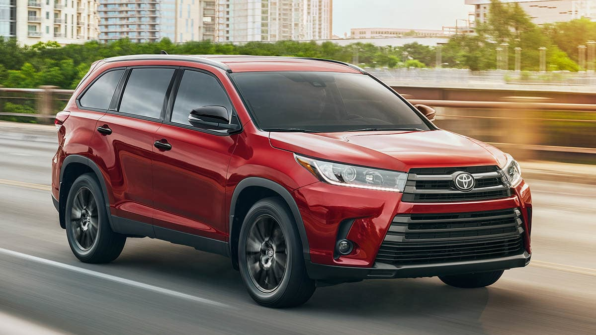 Black Friday Car Deals Toyota Highlander