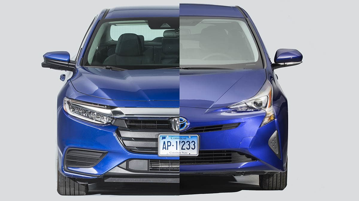 Honda Insight and the Toyota Prius