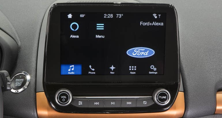 2018 Ford Eco Sport with Alexa