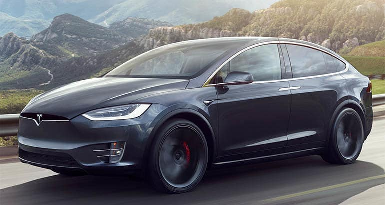 Least reliable new cars: Tesla Model X