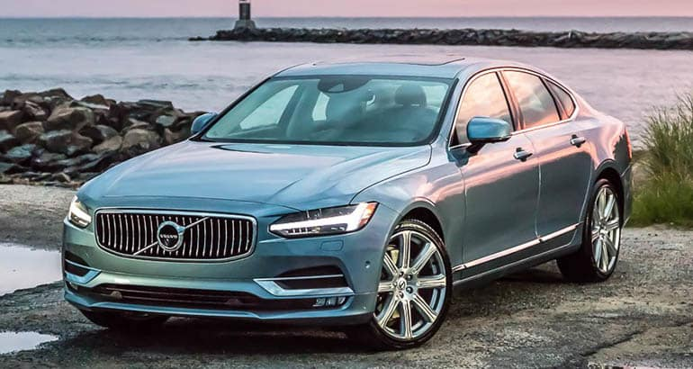Least reliable new cars: Volvo S90