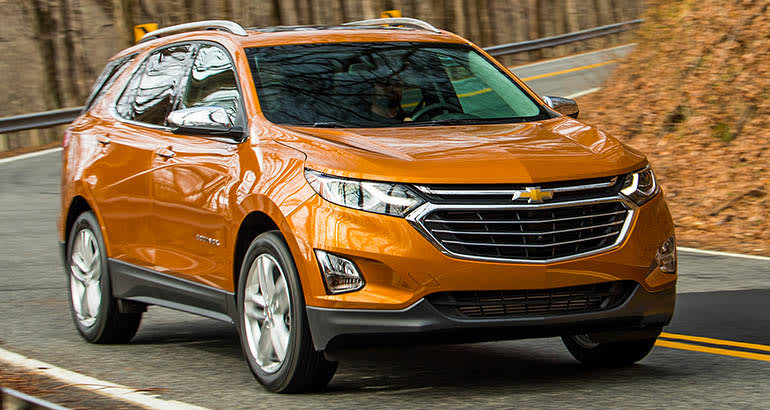 Most Fuel-Efficient SUVs include Chevrolet Equinox Diesel