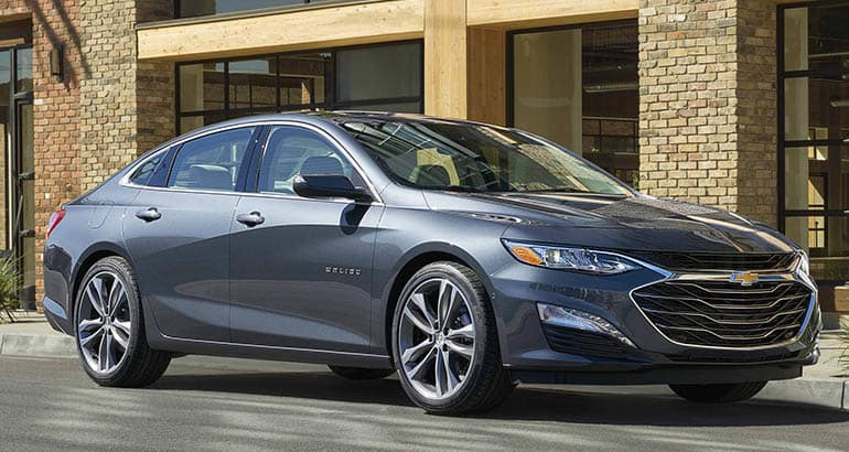 Least reliable new cars: Chevrolet Malibu