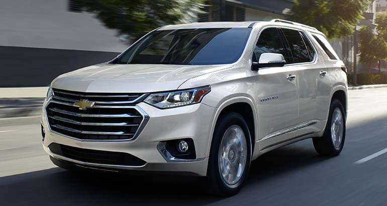 Least reliable new cars: Chevrolet Traverse