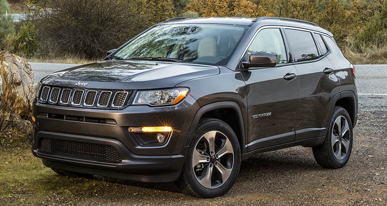 Least reliable new cars: Jeep Compass
