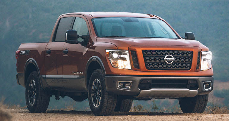 Least reliable new cars: Nissan Titan